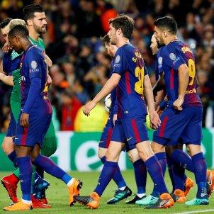 Barça Roma Champions Efe
