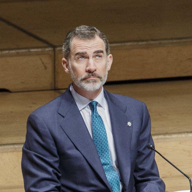 Rei Felip VI entrega despatxos a jutges - Sergi Alcàzar