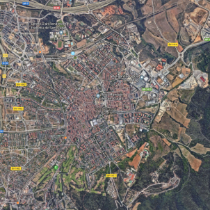 Sant Cugat google maps