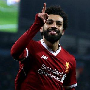 Salah Liverpool City Champions EFE
