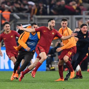 Roma gol Barça   EFE