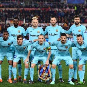 Roma Barça Champions Efe