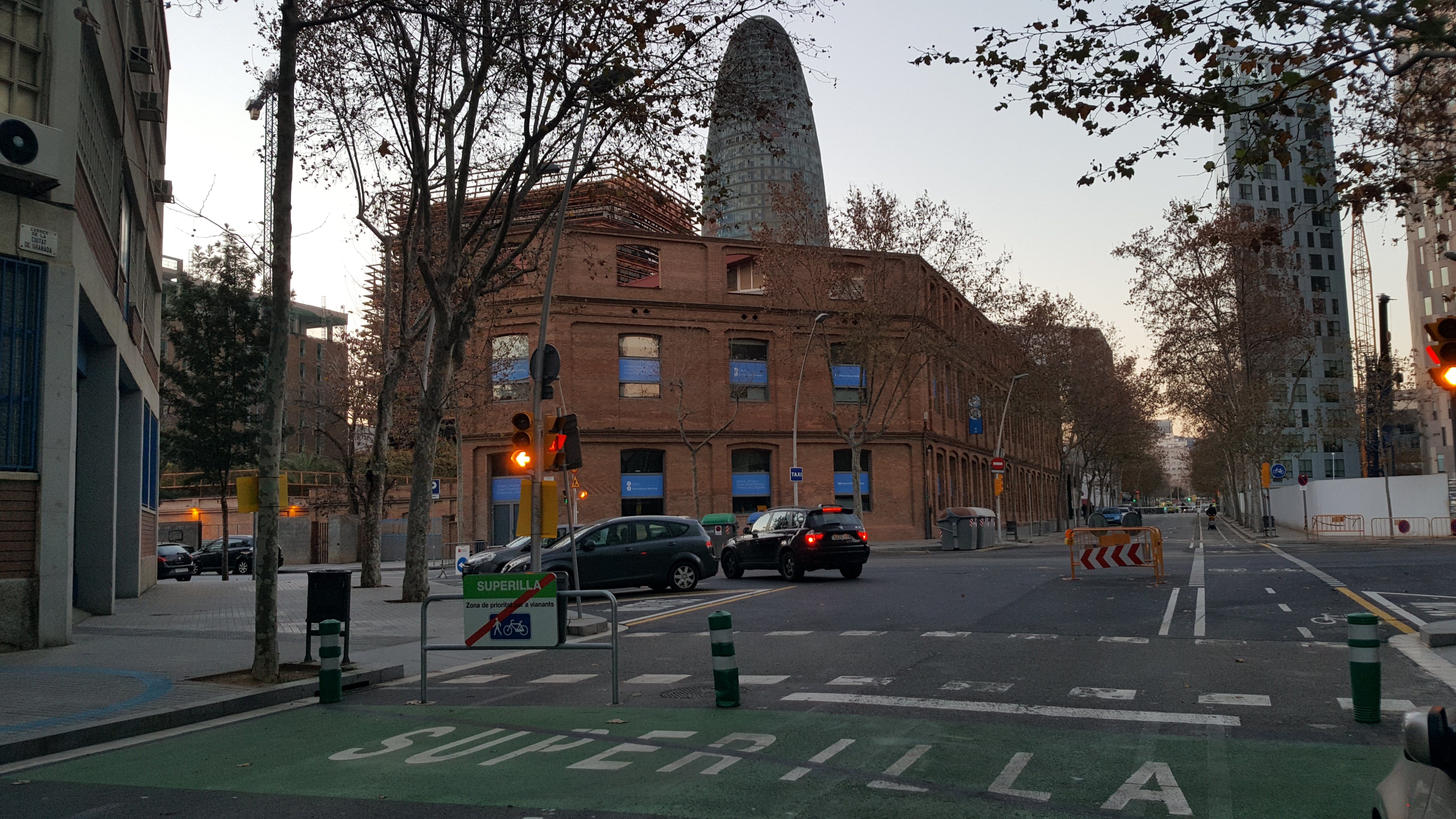 Superilla Poblenou Sortida Carrer Granada (Toniher)