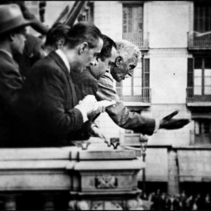 Test 6. Macià proclama l'Estat català dins la Federació de Repúbliques ibèriques. (14 04 1931). Font Arxiu d'ElNacional