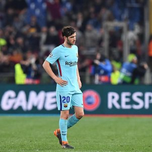 Sergi Roberto Barça Roma   EFE