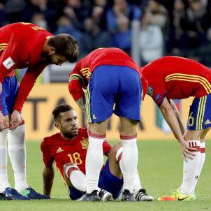 Jordi Alba selecció espanyola lesio Italia