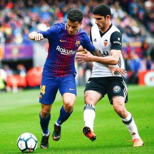 Coutinho Barça Valencia 2 Lliga EFE
