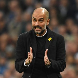 Pep Guardiola Premier League Tottenham Manchester City   EFE