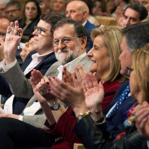Rajoy, Bañez, Cospedal efe