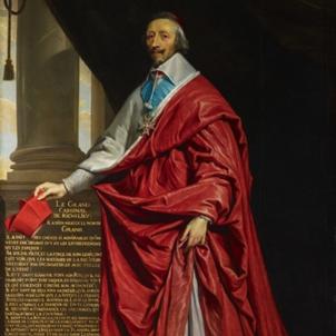 Nomenen primer ministre Richelieu, que incorporaria Catalunya a França. Retrat coetani. Font The Queen's Gallery. Londres