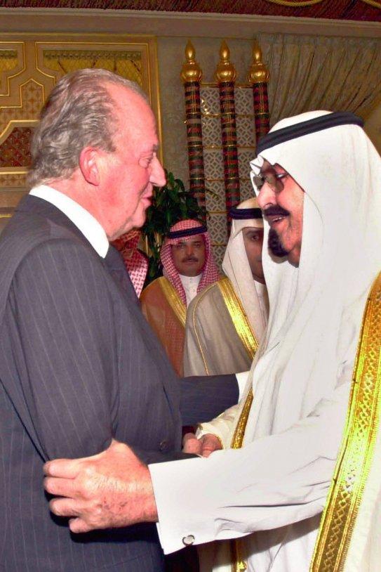 Joan Carles y arabia saudi GTRES