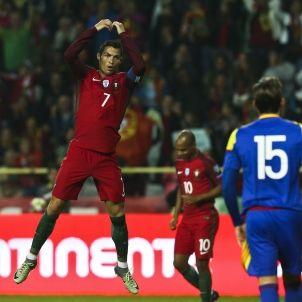 Cristiano Ronaldo Portugal Andorra Efe
