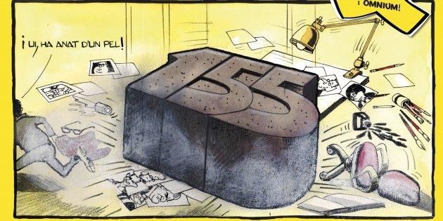 '155 dibuixos contra el 155'. Ed. Efadós, 161 p., 16,50 €.