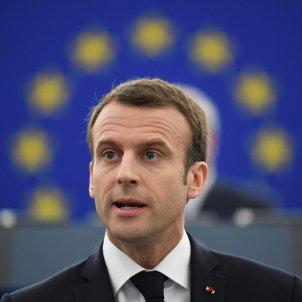 Macron Estrasburg