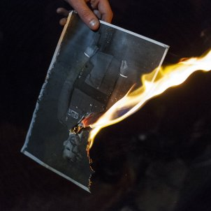 CDR crema foto del rei felip VI Manifestació delegacio del govern - Sergi Alcàzar35