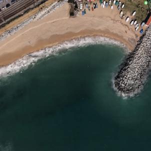platja vilassar mar google maps