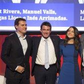 Ciutadans es fa un embolic amb Manuel Valls i Ada Colau