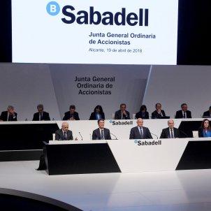 junta accionistes banc sabadell - efe
