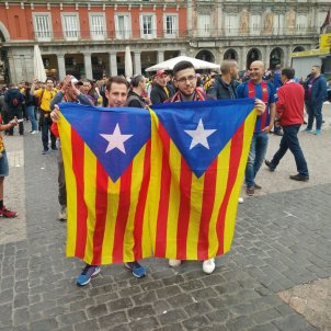 Estelades Madrid Final Copa Rei Aleix Torres