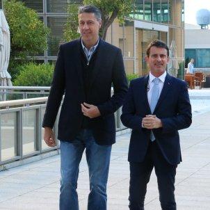 Albiol i Manuel Valls ACN