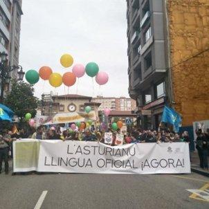 Manifestació Oviedo Llengua   Europa Press