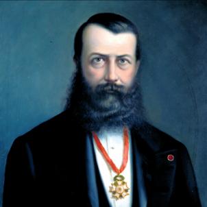 Andorra promulga la Nova Reforma. Retrat de Guillem d'Areny Plandolit. Font Arxiu Nacional d'Andorra