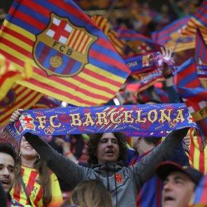Afició Barça final Copa del Rei   EFE