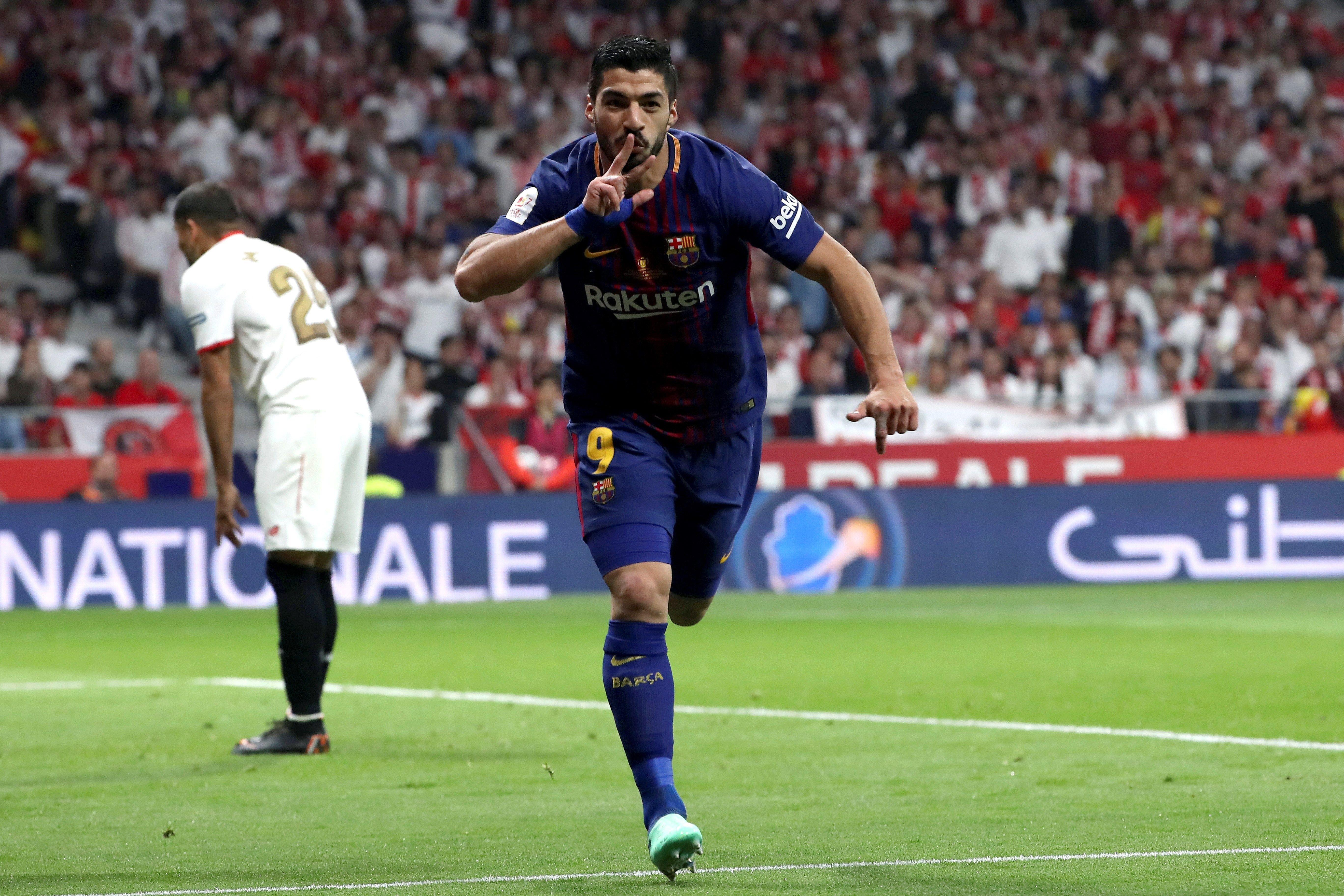Luis Suárez Sevilla Barça Final Copa Rei Efe