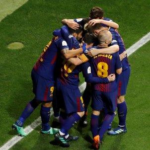 Barça final copa Pinya Sevilla EFE