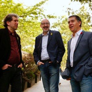 Joan Lluis Lluis, Antoni Bassas i Martí Gironell Sant Jordi   Sergi Alcàzar