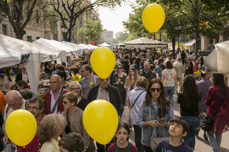 Sant Jordi globus grocs - Sergi Alcazar
