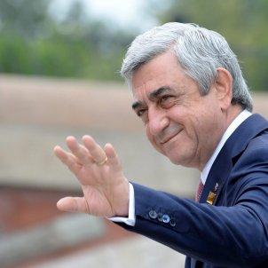 Serge Sargsián, primer ministro Armenia EFE