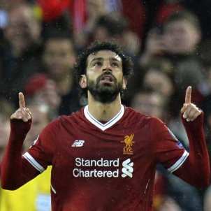 Mohamed Salah Liverpool Roma Champions Efe