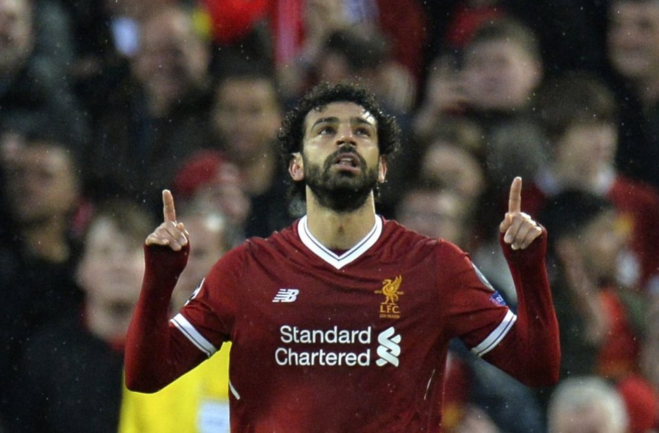 Mohamed Salah Liverpool Roma Champions Efe