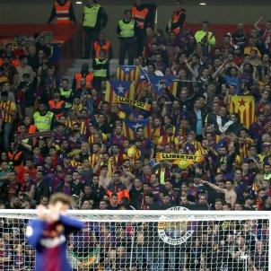 Estelades Barça final Copa Rei Sevilla   EFE