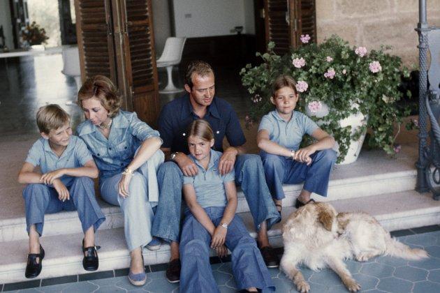 familia real perro - efe