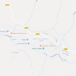 Beas de Segura, Jaen, Google maps