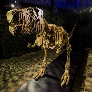 Tyrannosaurus rex de LEGO, de Nathan Sawaya