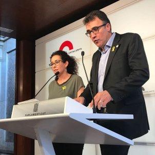 Irene Fornós i Lluís Salvadó @ERCesquerra
