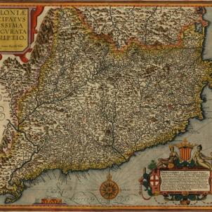Catalonia Principatus Novissima et Accurata Descriptio.