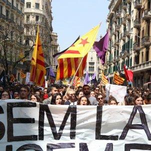 mani estudiants 155 presos polítics acn