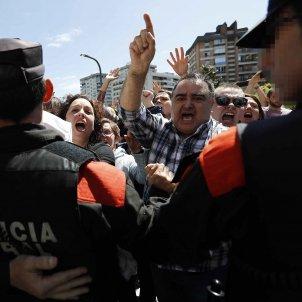 Protesta audiecia de Navarra San Fermines Manada - Efe