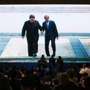 Presidentes Corea Norte y Sur EFE