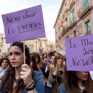 Protestas contra la Manada EFE