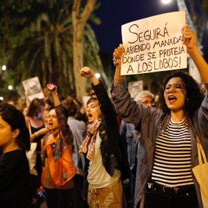 Manifestacio La Manada feminisme violacio - Sergi Alcàzar