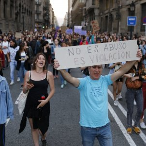 Manifestacio la Manada feminisme violacio sanfermines - Sergi Alcàzar