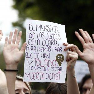 manifestacio contra manada EFE