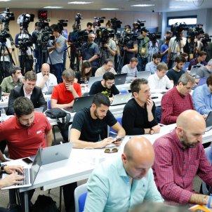 Expectació mediàtica mitjans comunicació premsa Barça futbol   Sergi Alcàzar