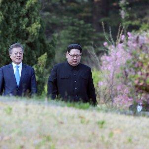 Kim Jong un moon jae in efe
