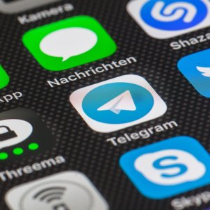 xarxes socials telegram pixabay